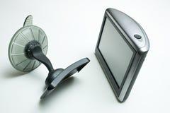 Dispositivo de los Gps con la taza de la succión Fotos de archivo