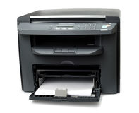 Dispositivo de múltiples funciones de la oficina Imagen de archivo libre de regalías