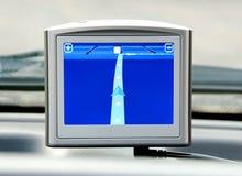 Dispositivo de sistema de navegación GPS genérico Fotos de archivo libres de regalías