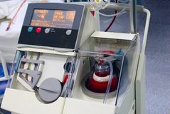 Dispositivo del ahorrador de la célula para la cirugía Imagenes de archivo