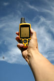 Dispositivo del GPS foto de archivo libre de regalías