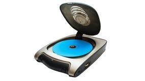 Dispositivo del lector de cd Fotografía de archivo