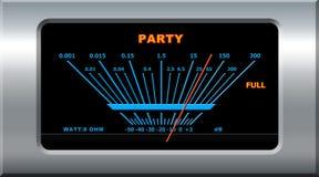 Dispositivo del partido Fotos de archivo libres de regalías