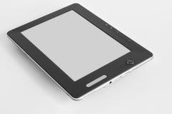 dispositivo del programa de lectura del E-libro Fotografía de archivo