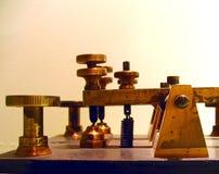 Dispositivo del telégrafo de la vendimia Fotografía de archivo