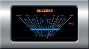Dispositivo del éxito Imagen de archivo libre de regalías