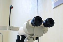 Dispositivo dell'ospedale Attrezzatura di Ophtalmic fotografia stock
