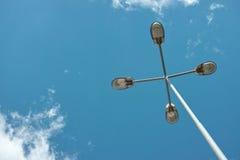 Dispositivo di industriale della lampada di via Fotografie Stock