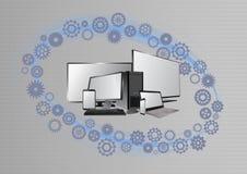 Dispositivo di multimedia Fotografie Stock Libere da Diritti