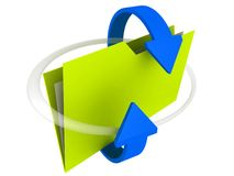 Dispositivo di piegatura: Compartecipazione Fotografia Stock