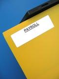 Dispositivo di piegatura del libro paga Fotografie Stock Libere da Diritti