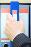 Dispositivo di piegatura di archivi Immagine Stock