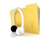 Dispositivo di piegatura di musica Immagini Stock