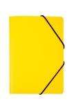 Dispositivo di piegatura giallo isolato Fotografia Stock Libera da Diritti
