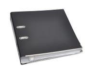 Dispositivo di piegatura nero di affari dell'archivio. fotografia stock libera da diritti