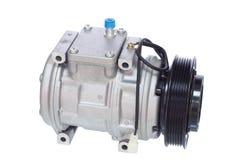 Dispositivo di raffreddamento del compressore d'aria Fotografia Stock