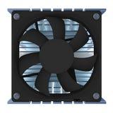 Dispositivo di raffreddamento del CPU Immagine Stock