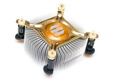 Dispositivo di raffreddamento del CPU Immagini Stock Libere da Diritti