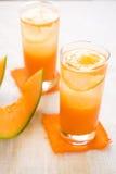 Dispositivo di raffreddamento del melone Fotografie Stock Libere da Diritti