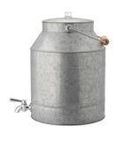 Dispositivo di raffreddamento di acqua galvanizzato oggetto d'antiquariato Fotografie Stock Libere da Diritti