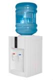 Dispositivo di raffreddamento di acqua isolato su priorità bassa bianca immagine stock libera da diritti