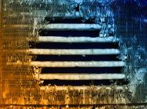 Dispositivo di raffreddamento nocivo del motore Fotografie Stock Libere da Diritti
