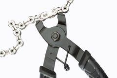 Dispositivo di rimozione matrice del collegamento a catena Immagine Stock