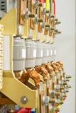 Dispositivo di sicurezza elettrico Fotografia Stock