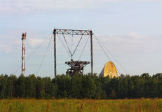 Dispositivo di telecomunicazioni via satellite Immagini Stock Libere da Diritti