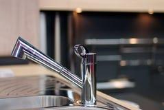 Dispositivo do dissipador, faucet Imagens de Stock Royalty Free