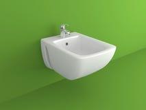 Dispositivo do toalete Foto de Stock Royalty Free