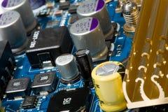 Dispositivo do ultra-som da tecnologia e do desenvolvimento. Fotos de Stock Royalty Free