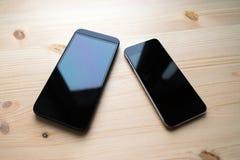 Dispositivo dois preto Fotos de Stock
