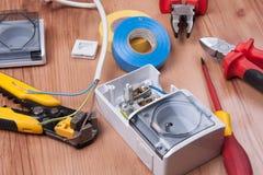 Dispositivo eléctrico Imagen de archivo libre de regalías