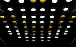 Dispositivo elétrico de luzes do teto fotos de stock royalty free