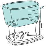 Dispositivo flossing del agua Foto de archivo