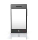 Dispositivo genérico del teléfono móvil de la pantalla táctil ilustración del vector