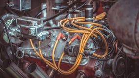 Dispositivo industrial del motor del poder mecánico foto de archivo