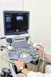 Dispositivo médico do ultrassom Fotos de Stock