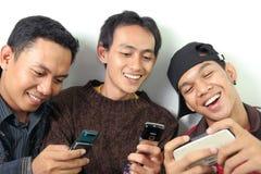 Dispositivo móvel Imagens de Stock