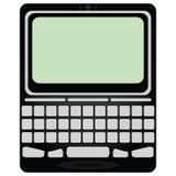 Dispositivo móvel do email Imagem de Stock