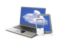 Dispositivo móvil Fotos de archivo