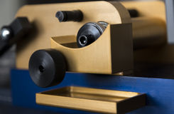 Dispositivo mecanicamente complexo Fotografia de Stock