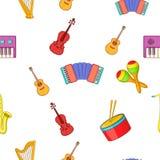 Dispositivo para o teste padrão da música, estilo dos desenhos animados ilustração do vetor