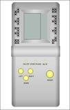Dispositivo pasado de moda de los tetris Fotografía de archivo libre de regalías