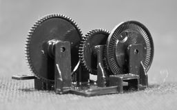 Dispositivo pequeno do motor Imagem de Stock Royalty Free