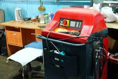 Dispositivo per il controllo del condizionatore d'aria Fotografie Stock