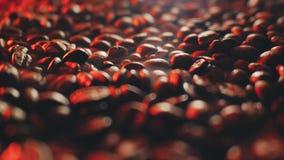 Dispositivo per la torrefazione dei chicchi di caffè Fotografia Stock