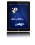 Dispositivo portable de la tablilla de IPad Fotos de archivo libres de regalías