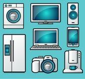 Dispositivos Imagem de Stock